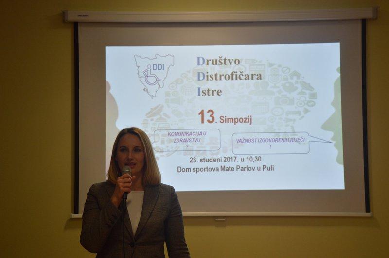 LokalnaHrvatska.hr Pula Otvoren 13. Simpozij distroficara Istre pod nazivom 'Komunikacija u zdravstvu - vaznost izgovorenih rijeci'