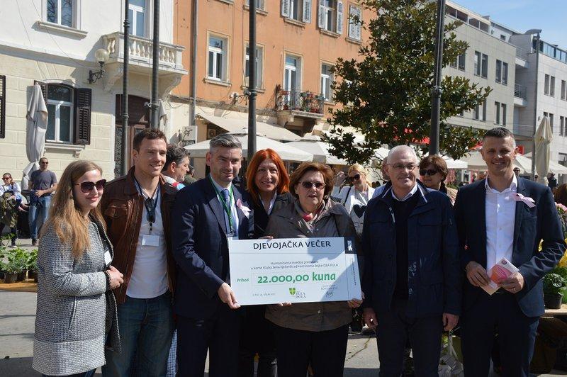 LokalnaHrvatska.hr Pula Humanitarna akcija Dan narcisa na gradskoj trznici
